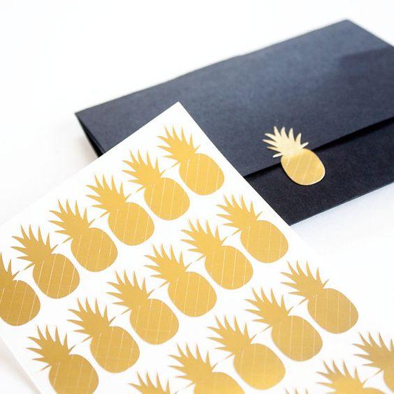 Altın Yaldızlı Sticker